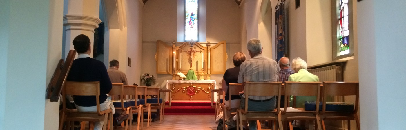 The daily Mass in the chapel